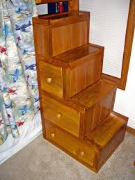 Bunk Bed Stairs With Drawers Bunk Bed Stairs With Drawers By Buckeyes85 Lumberjocks