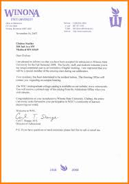How Does College Acceptance Letter Look Like 4 College Acceptance Letter Sle Doctors Signature
