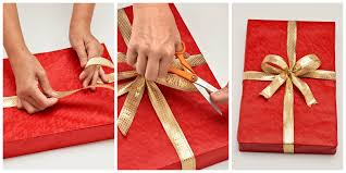 gift box wrapping how to wrap a gift wrapping a present step by step