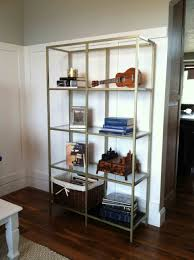 Unique Shelving Ideas Modest Shelving Unit With Stainless Frame Rack And Base Glasses