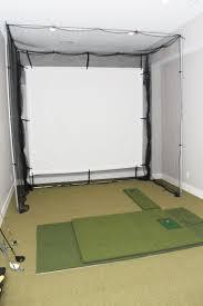 golf wonderful indoor golf practice net golf frame corner kit