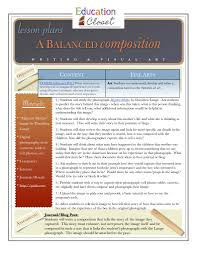 writing a composition paper a balanced composition digital photography and writing lesson though you could easily adapt it to work in any other level with a few tweaks to both the writing assignment and the digital tools that are being used