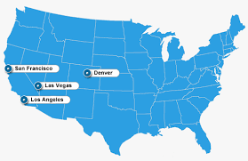 map us las vegas map usa denver major tourist attractions maps