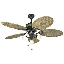 propeller fan with light innovative wicker ceiling fans 114079 48 inch fan with light