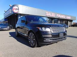 range rover autobiography 2015 used land rover range rover for sale abbotsford bc cargurus