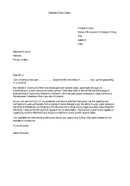 Cover Letter With Enclosures