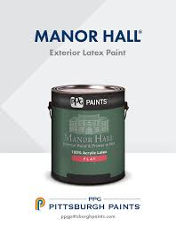 manor hall exterior paint