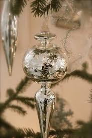 beautiful mercury glass ornaments mercury glass pinterest