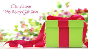 chic luxuries merry gift ideas