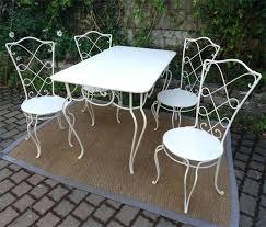 Beautiful Salon De Jardin Vienna Teck Fer Forge Salon De Jardin Fer Forge Blanc Zuorest