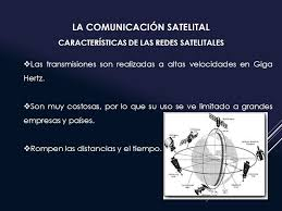 imagenes satelitales caracteristicas transmisiones via satelite jakson acevedo comunicación satelital el