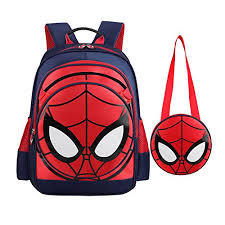 spider man products spiderman backpack boys waterproof comic
