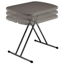 telescoping table compact expandable table rio brands t456 folding tables