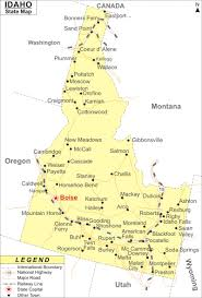 Idaho Counties Map Idaho Map Jpg