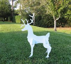 outdoor reindeer yard deer ebay