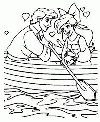 the brilliant and attractive the little mermaid coloring pages