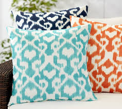 andrea printed indoor outdoor pillow pottery barn