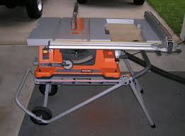 Ridgid Table Saw Extension Tablesaw Storage Solution Archive The Garage Journal Board