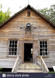 old historic one room house in cracker country tampa