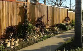 Bamboo Backyard Bamboo Fence For Your Decorative Backyard Ippio