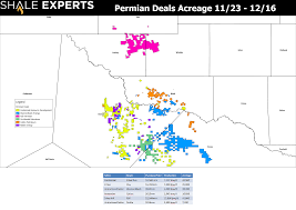 Permian Basin Map Maps A U0026d Transactions Southern Delaware Basin Scoop Stack