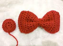 crochet hair bows free crochet pattern hello style bow shoe
