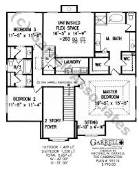 carrington house plan colonial house plans
