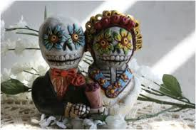 sugar skull cake topper sugar skull wedding cake toppers