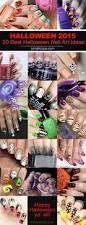 20 terribly beautiful halloween nail art designs