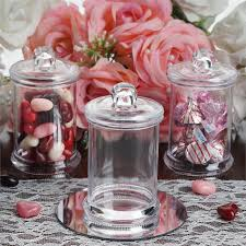 jar party favors clear plastic container with clear lid 12 pack 6oz efavormart