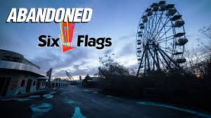 Six Flags Adress Exploring An Abandoned Theme Park Six Flags New Orleans Part 1
