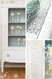 Does Goodwill Take Furniture by How To Create Raised Stencil Design Salvaged Inspirations