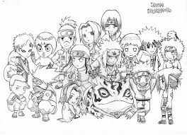 naruto coloring pages devientart coloring