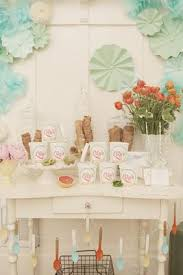 Bridal Shower Dessert Table Gelato Bridal Shower Dessert Table And Pale Colour Palette In The