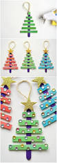 simple popsicle christmas tree craft project she saved tree