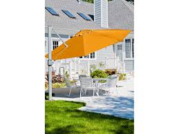 13 Foot Cantilever Patio Umbrella by Frankford Eclipse Commercial Cantilever 13 Foot Wide Octagon Crank