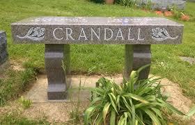memorial benches kellogg memorials