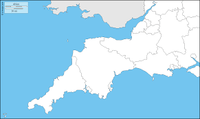 England Counties Map by South West England Free Map Free Blank Map Free Outline Map