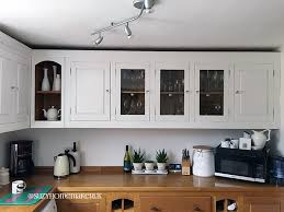 is eggshell paint for kitchen cabinets painting oak kitchen cabinets the witch at oneandseventy