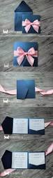 Invitation Cards Design With Ribbons Best 25 Pink Wedding Invitations Ideas On Pinterest Wedding