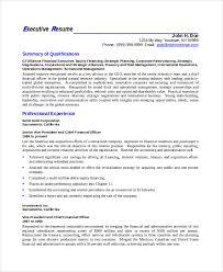 elegant resume template 7 free word pdf documents download