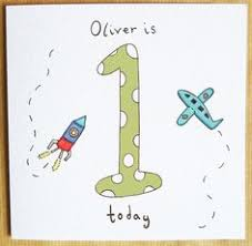 this is a lovely personalised birthday card for a little or