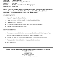 cover letter template for social services service sample letter