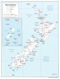 geography blog new zealand map with cities