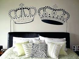 Mesmerizing Crown Wall Decor Articles With Gold Princess Crown