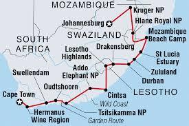 Drakensberg Mountains Map Lesotho Tours U0026 Travel Intrepid Travel Us