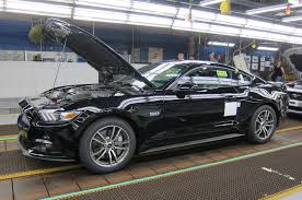 New Mustang Black 2015 Ford Mustang Enters Production Motor Trend Wot