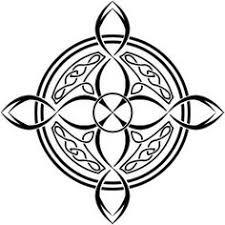 celtic ornamental knot insquare coloring page black white