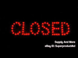 shop open sign lights open closed 2 in 1 bright led store shop sign close neon bar cafe
