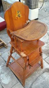 Bye Bye Baby High Chairs Antique Baby High Chair Vintage Baby High Chair Converts To Low